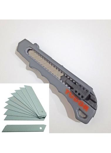 JBL Metal Gövdeli Profesyonel Maket Bıçağı - 10 Adet Yedek Uçlu Renkli